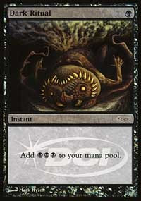 Dark Ritual (Foil / Judge Promo)