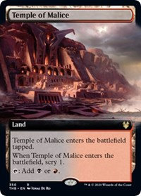 Temple of Malice (Extended Art / Theros Beyond Death)