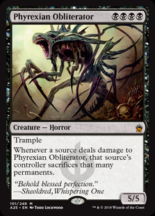 Phyrexian Obliterator (Foil / Masters 25)