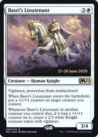 Basri's Lieutenant (Prerelease Foil / CoreSet 2021)