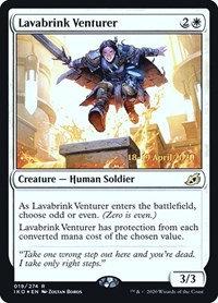 Lavabrink Venturer (Prerelease Foil / Ikoria - Lair of Behemoths)