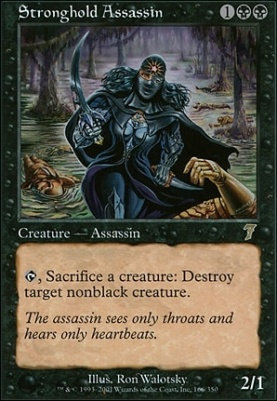 Stronghold Assassin (Foil / 7th Ed)