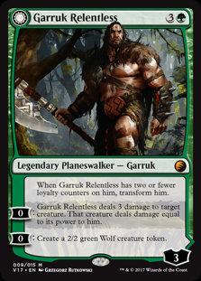 Garruk, Primal Hunter (FTV - Transform)