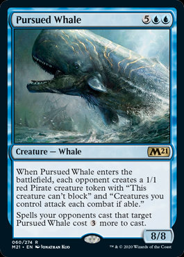 Pursued Whale (CoreSet 2021)