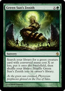 Green Sun's Zenith (Mirroding Besieged)