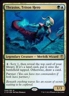 Thrasios, Triton Hero (Foil / Commander 2016)