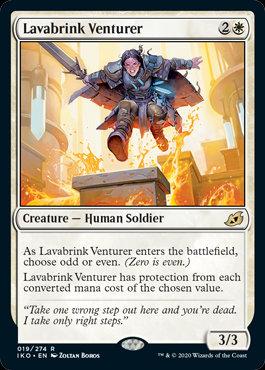 Lavabrink Venturer (Ikoria - Lair of Behemoths)