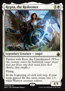 Regna, the Redeemer (Foil / BattleBond)