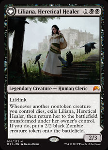 Liliana, Heretical Healer (Origins)