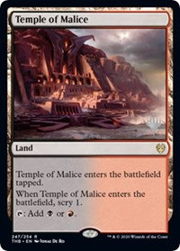 Temple of Malice (Stamped / Theros Beyond Death)