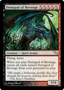Demigod of Revenge (Shadowmoor)