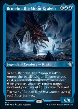 Brinelin, the Moon Kraken (Etched Foil / Commander Legends)