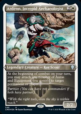 Ardenn, Intrepid Archealogist (Etched Foil / Commander Legends)
