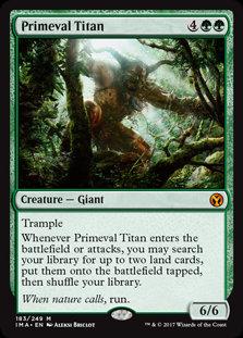 Primeval Titan (Iconic Masters)