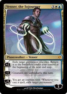 Venser, the Sojourner (Duel Decks - Venser vs. Koth)