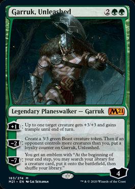 Garruk, Unleashed (CoreSet 2021)
