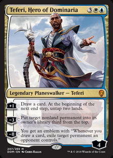 Teferi, Hero of Dominaria (Dominaria)