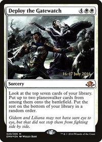 Deploy the Gatewatch (Prerelease Foil / Eldritch Moon)
