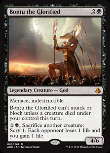 Bontu the Glorified (Foil / Amonkhet)