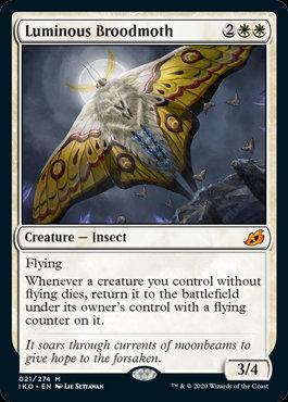 Luminous Broodmoth (Ikoria - Lair of Behemoths)