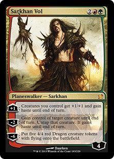 Sarkhan Vol (Modern Masters 2013)