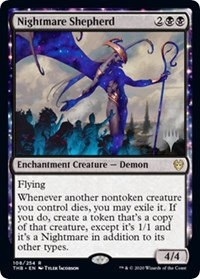 Nightmare Shepherd ( Stamped / Theros Beyond Death)