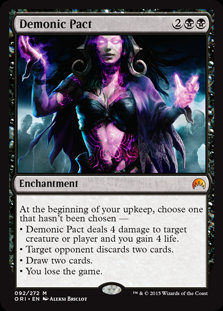 Demonic Pact (Foil / Origins)