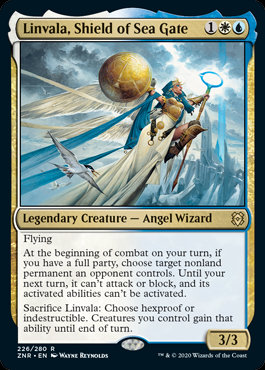 Linvala, Shield of Sea Gate (Zendikar Rising)