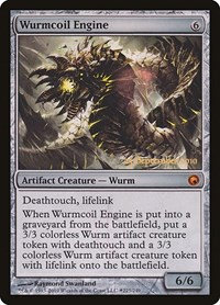 Wurmcoil Engine (Prerelease Foil / Scars of Mirrodin)