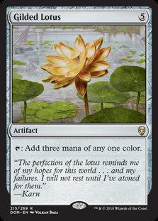 Gilded Lotus (Dominaria)