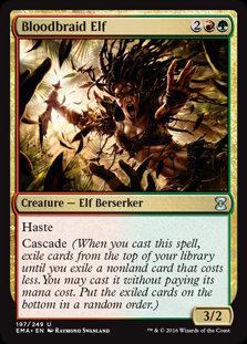 Bloodbraid Elf (Foil / Eternal Masters)
