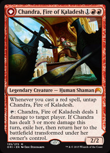 Chandra, Fire of Kaladesh (Origins)