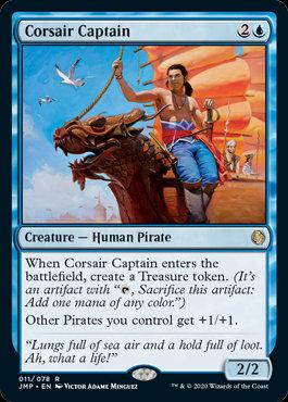 Corsair Captain (Jumpstart)