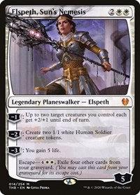 Elspeth, Sun's Nemesis (Stamped / Theros Beyond Death)