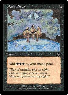 Dark Ritual (Foil / Mercadian Masques)