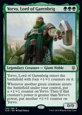 Yorvo, Lord of Garenbrig (Foil / Throne of Eldraine)