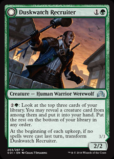 Duskwatch Recruiter (Foil / Shadows Over Innistrad)