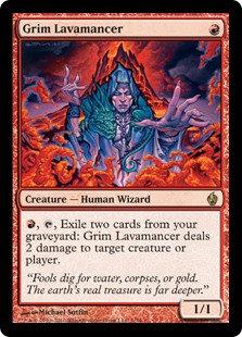 Grim Lavamancer (Foil / Premium Series)