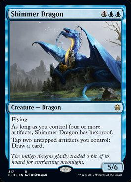 Shimmer Dragon (Throne of Eldraine)