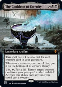 The Cauldron of Eternity (Extended Art / Throne of Eldraine)