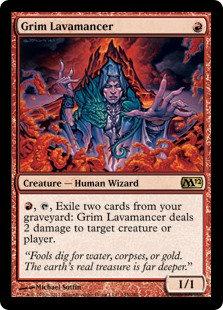 Grim Lavamancer (CoreSet 2012)