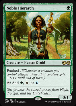 Noble Hierarch (Foil / Ultimate Masters)