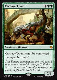Carnage Tyrant (Ixalan)