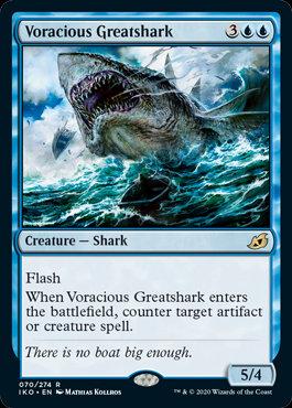 Voracious Greatshark (Ikoria - Lair of Behemoths)