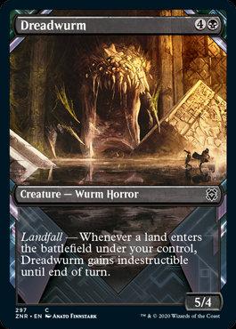 Dreadwurm (Alt Art / Zendikar Rising)