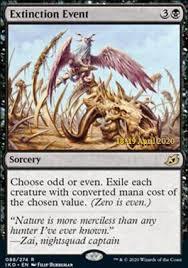Extinction Event (Prerelease Foil / Ikoria - Lair of Behemoths)