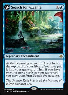 Search for Azcanta (Ixalan)