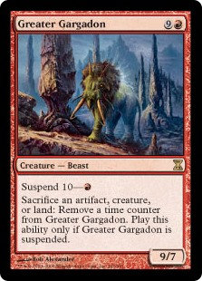 Greater Gargadon (Foil / Time Spiral)
