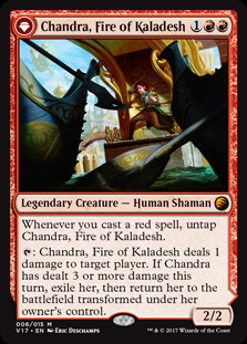 Chandra, Fire of Kaladesh (FTV - Transform)