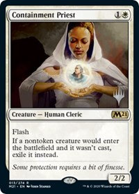Containment Priest (Foil / Stamped / CoreSet 2021)
